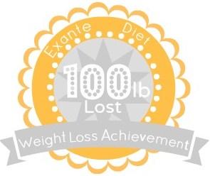 EXANTE Weight Loss Achievement Badges!-100lb.jpg