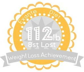 EXANTE Weight Loss Achievement Badges!-112lb.jpg