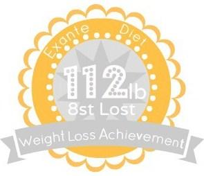 EXANTE Weight Loss Achievement Badges!-112lb.jpg