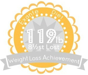 EXANTE Weight Loss Achievement Badges!-119lb.jpg