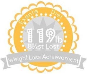 EXANTE Weight Loss Achievement Badges!-119lb.jpg
