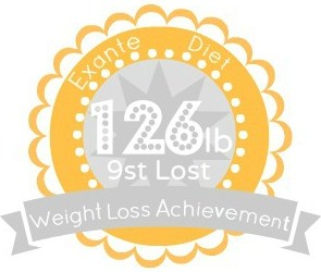 EXANTE Weight Loss Achievement Badges!-126lb.jpg