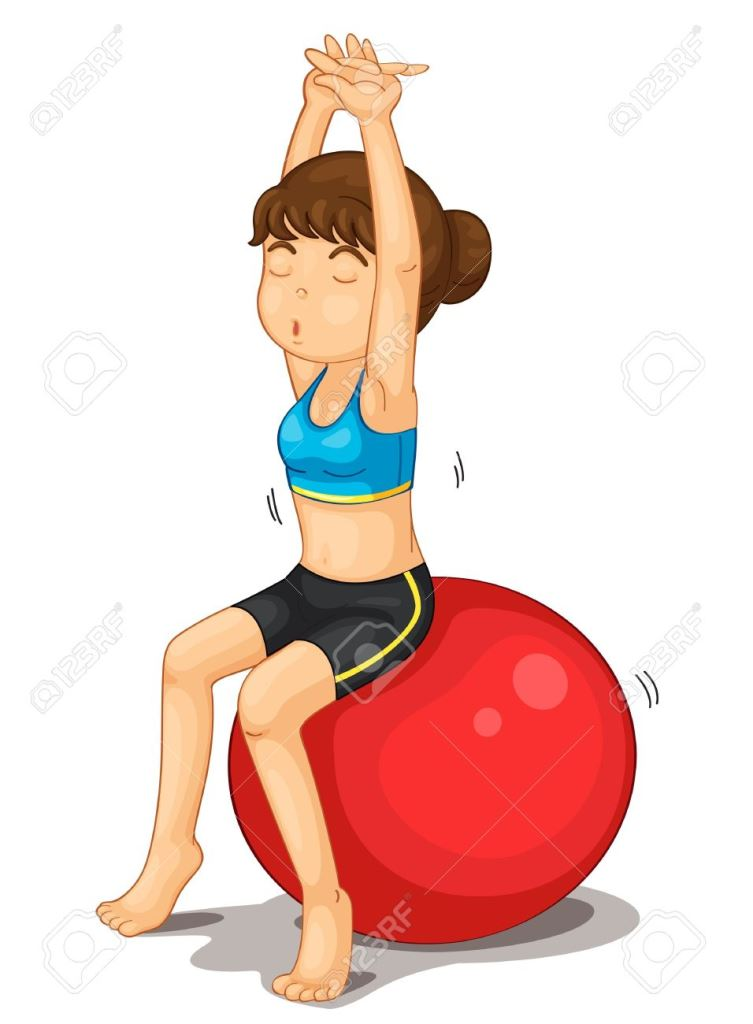 13376709-Fitness-girl-exercising-and-strectching-Stock-Vector-cartoon-exercise-breathing.jpg
