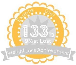 EXANTE Weight Loss Achievement Badges!-133lb.jpg