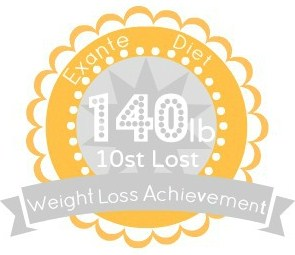 EXANTE Weight Loss Achievement Badges!-140lb.jpg
