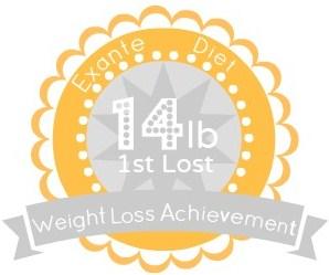 EXANTE Weight Loss Achievement Badges!-14lb.jpg