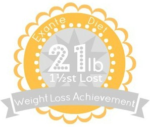 EXANTE Weight Loss Achievement Badges!-21lbs.jpg