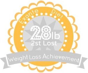 EXANTE Weight Loss Achievement Badges!-28lb.jpg