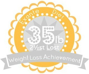 EXANTE Weight Loss Achievement Badges!-35lb.jpg
