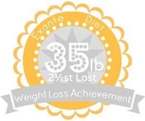 EXANTE Weight Loss Achievement Badges!-35lb.jpg