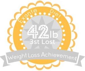 EXANTE Weight Loss Achievement Badges!-42lb.jpg