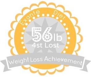 EXANTE Weight Loss Achievement Badges!-56lb.jpg