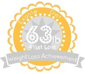 EXANTE Weight Loss Achievement Badges!-63lb.jpg