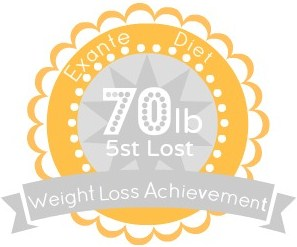 EXANTE Weight Loss Achievement Badges!-70lb.jpg