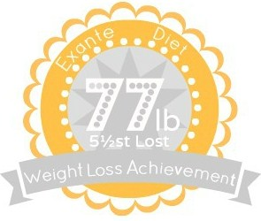 EXANTE Weight Loss Achievement Badges!-77lb.jpg