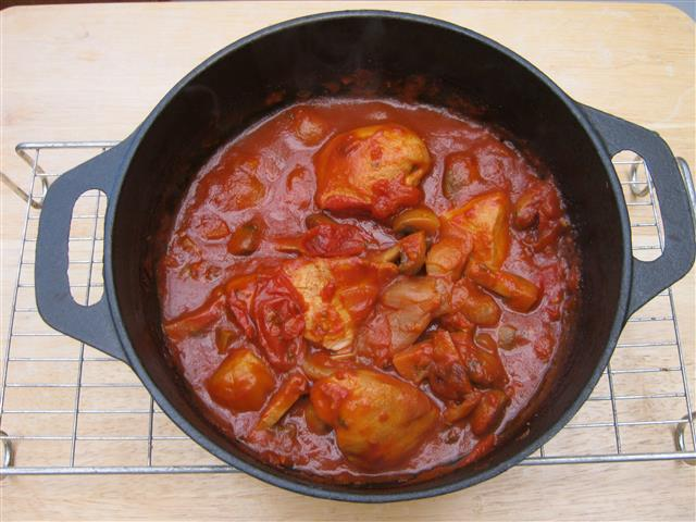 Name:  Chicken Chasseur (2013) (Small).JPG Views: 1852 Size:  66.0 KB