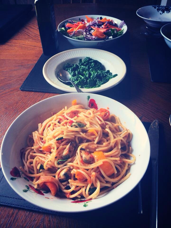Chilli and Garlic Mussels and Prawns with Spaghetti - SYN FREE!-image-1012029507.jpg
