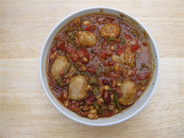 Name:  Sausage & bean Casserole (Small).JPG