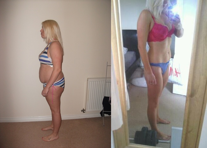 Nearly 10 weeks in - 3 and half stone gone! Size 10 at last YIPPEEEEE! B4 & NOW Photo-skiny1.jpg