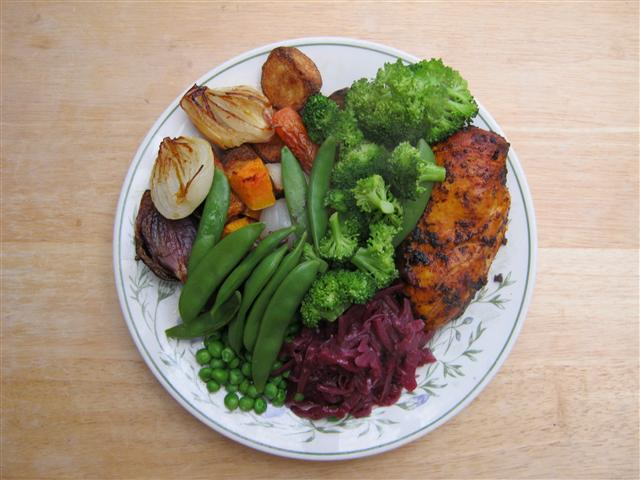 Name:  Spicy Chicken & Roast Veg (Small).JPG
